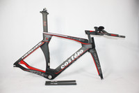 Wholesale Time Bikes Frames - 2015 New !carbon tt frame P5 costelo carbon road frame size51 54 57cm bicycle frame time trial frame road bike bicycle parts
