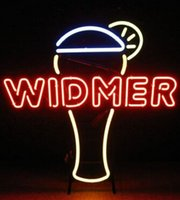 "Wholesale 27 Tubes - Widmer Hefewizen Neon Sign Soft Drink Bar Juice Lemon Custom Handcrafted Real Glass Tube Advertisement Display Neon Signs 27""X28"""