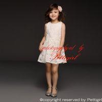 Wholesale Organza Sunflower Dress - Pettigirl 2016 New Fashion Girls Summer Dresses White Cotton Sunflower Dresses Children Fashion Casual Dresses Free Shipping GD40415-6
