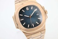 Wholesale pointer hand online - HOT SALE Blue Dial Golden Staimless Belt Trend Whatches Lighte Green Stainless Pointer Watch Mens Fashion Wrist Watches