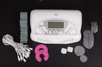 almohadillas de estimulación muscular al por mayor-Diseño moderno 22 pads Microcurrent Electro Delgado Electrónico estimulación muscular Masaje Cuidado de Mama Body Shaping máquina de la belleza