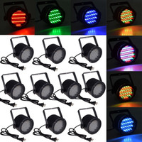 Wholesale 86 Led Strobe - 10X Professional Stage light 25W 86 RGB LED Light 4 Channel DMX512 Control Lighting Projector Stage Party Disco Stage light