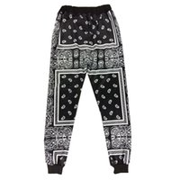 Wholesale Women S Vintage Print Pants - Harajuku KTZ Pants Men Vintage Boys Jogger Pant Brand 2016 Streetwear Hipster Sport Trousers Men Women Hip Hop Harem Sweatpants