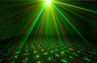 Wholesale Mini Laser Dmx - Wholesale-20 in 1 Mini DMX Red Green Led Moving Head Lighting Laser Projector Party Stage Light Disco DJ Controller Lights equipment