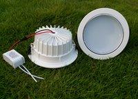luzes led de 15 watts venda por atacado-MOQ100 LEVOU Recesso Downlights Lâmpada AC 85-265 V 9 W 12 W 15 W 18 W de Alta Potência Watt Teto Para Baixo Iluminação de Luz WW NW CW Decoração Interior CE ROSH