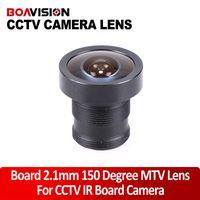 Wholesale Degree Fish Eye Lens - MTV Lens 2.1mm Monofocal Fixed Iris Board Mount Lens  CCTV Lens 150 Degree fish eye wide angle