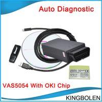 Wholesale Vw Uds Diagnostic - Multi-language VAS 5054A with OKI Chip V19 Bluetooth Scanner VAS5054A support UDS Protocal 5054 VW AUDI SKODA SEAT VAS5054A Diagnostic Tool