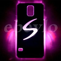 Wholesale Samung Galaxy Covers - Cell Phone Cases LED Phone Cover for Samung galaxy S5 LED Lighted Cover Cases LED Cell Phone Accessories Flash while Calling