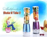 Wholesale Mixer Table - New Shake n Take 2 Mini Blender Juicer Mixer Healthy Drink Smoothie Maker Ice Crusher With Retail Packing
