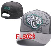Wholesale Jaguar Caps - wholesale price Jaguars Hats Jacksonville cap Adjustable Snapback Hat Baseball Caps Adult Acceap Mix Order
