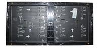 2200nits smd Display module RGB full color PH5   P5 32*16cm LED billboard screen moving video digital sign board panel