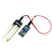 Wholesale Soil Humidity Arduino - New Hot Soil Humidity Moisture Detection Sensor Module Arduino w Dupont Wires kits VE093 W0.5 SUP5