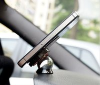 Wholesale Navigation Cradle - Car navigation cradle, phone pad dual magnetic bracket.Magnet sucker Support Mobile Magnetic universal stand lazy