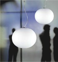 Wholesale Chandeliers Glass Balls - Flos glo ball pendant lamp Modern chandelier Glass dining room hanging light Creative lighting fixture by Jasper Morr Free shipping