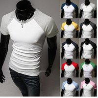 Wholesale Design Transportation - Wholesale-Free transportation 2015 fashion raglan sleeve design men's short sleeve T-shirt must cultivate one's morality leisure