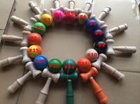Wholesale free japanese toys online - Kendama Ball Japanese Traditional Wood Game Toy Education Gift big size