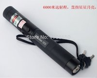 Wholesale Green Laser Flashlight Pointers - Super Powerful! power military led flashlight green  red  blue violet laser pointers 532nm burning Matches & Light burn Cigarettes+safe key