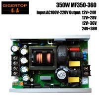 Wholesale 36v power supply - TIPTOP 350W Led Stage Lighting Power Supply MF350-360 Voltage Transformer 12V+24V 12V+28V 12VV+36V 24V+36V Output Spider Light
