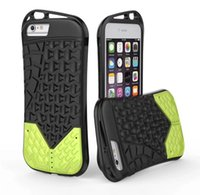 Wholesale Iphone Sports Car - fasion hybrid Sports Car combo heavy duty vivid dual color case cover skin for iPhone 6 6Plus 7 7P 8 8 Plus