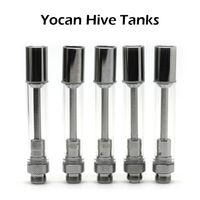 быстрая доставка атомайзеров оптовых-Оригинал Yocan Hive Распылители Yocan Hive 2.0 Испаритель Для Густого Масла / Воска В Индивидуальной Пластиковой Трубке Быстрая Доставка
