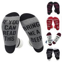 Wholesale Mens Christmas Socks - christmas socks Xmas Unisex If You Can Read This Bring Me a Beer Sock Womens Mens Funny Socks women winter socks