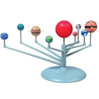 2017 NOVITÀ DIY The Solar System Nove pianeti Planetarium Model Kit Science Astronomy Project Early Education For Children
