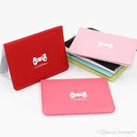 Wholesale Lovely Bowknot Wallet - Wholesales Bowknot Women Credit Card Bags Faux Leather Card ID Holders Lovely Cartoon Business Card Wallets ZS0108 Bagseller2010