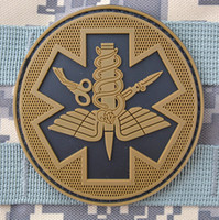 Wholesale Coyote Tactical - TACTICAL MEDICAL Patch Tactical PVC Patches Rubber Combat Hook And Loop Armband Badge Coyote Brwon Freeship