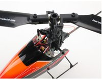 Wholesale V922 Battery - Wholesale-NEW 2.4G 6CH V922 WL Toy Single Blade Gyro RC Mini Helicopter With LCD 2 Batteries Outdoor and original box Free Shipping