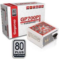 bureau d'alimentation achat en gros de-Segotep 600W GP700P ATX PC Alimentation de bureau Jeux de bureau 80Plus Platinum PSU actif PFC DC-DC Taux de rendement universel de 94%