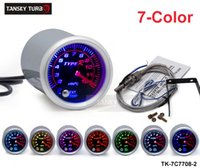 "Wholesale Exhaust Meter - Tansky Universal Cars' Meter   Gauge TYPE-R 2"" 52 mm 7 COLOR Exhaust Gas Temperature EGT Gauge TK-7C7708-2"