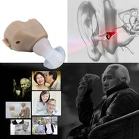 Wholesale Mini Hearing - Hot! Small In-Ear Voice Sound Amplifier Adjustable Tone Mini Hearing Ear Aid