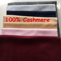 Wholesale Plaid Cashmere Wrap - Winter Top Unisex 100% Cashmere Scarf For Women and Men 2018 Brand Luxury Classic Check Scarfs Pashmina Women Designer Shawls and Scarves
