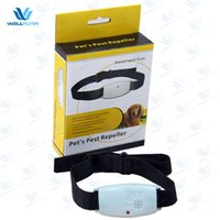 Wholesale Mosquito Collars - Ultrasound Pest Repellent Electronic Anti Mosquito Flea And Tick Collar Practical Portable Collars Hot Sale 17 5we B R R