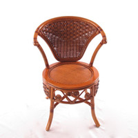 Wholesale Enron House balcony wicker chairs rocking lounge chair simple chair study computer chair old fashion small waist chair