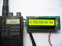 Wholesale Radio Tester - Wholesale-0.1-1100 MHz 0.1-1.1 GHz Frequency Counter Tester Measurement For Ham Radio free ship