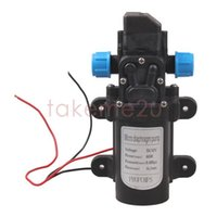 Wholesale Diaphragm High Pressure Water Pump - DC 12V 60W High Pressure Micro Diaphragm Water Pump Automatic Switch 5L min KK#Y