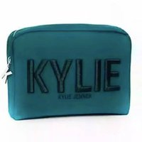 Wholesale Wholesale Shipping Barrels - New Kylie Jenner Cosmetic Bags Holiday Collection makeup bag Kylie bag high quality Free shipping By DHL