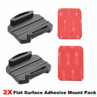 Wholesale Sticky Surfaces - DZ-S2 Flat Surface Adhesive Mount Pack+3M sticker Set for Sony Action Camera, Pack of 2 (3M VHB Adhesive Sticky) VCT-AM1