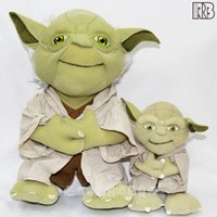 Wholesale Wisdom Kids Toys - 2016 Star Wars plush toy dolls Wisdom old Yoda plush toy doll doll kids gift Yoda Mimion Master of wisdom Plush Toys Dolls Chirstmas Gifts