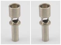 Wholesale flux nail - In Stock New mm Flux Titanium Nail domeless ti nail vs Titanium Carb Cap Ceramic Nail Fast Shipping