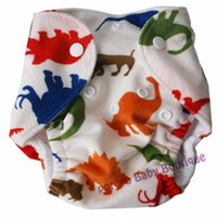 Wholesale Cloth Diapers Wholesale For Newborns - Wholesale-Free shipping newborn cloth diaper with pocket, print baby diapers, reusable nappies for newborn