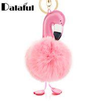 брелок для ключей оптовых-beijia смешная птица брелок искусственный мех кролика мяч птица брелок сумочка кулон автомобиль ключ Chian Кольцо держатель подарки K345