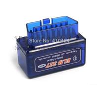 hyundai teşhis arabirimi toptan satış-OBD2 / OBDII Tarayıcı ELM 327 MINI araç teşhis arayüzü tarayıcı aracı Süper mini ELM327 bluetooth sipariş $ 18no parça