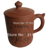 Großhandels-Promotion Blessing Yixing Large Size Geschenk Lila Ton Teetasse Zisha Teacup