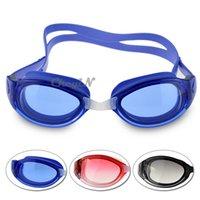 Wholesale Order Uv Glass - Swim Eyewear Swimming Goggles Men Women Unisex Anti Fog Adult Diving Glasses Waterproof UV Protection 0.3-YJ027 order<$15 no tracking