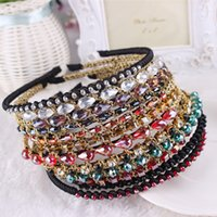 Wholesale Hair Jewels Headbands - HipGirl Girls   Women Ribbon or Jewel Headbands Girls   Women Bejeweled Sparkle Headbands--Color May Vary Children's Hair Accessories