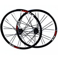 Wholesale 26 Wheels - Wholesale-Mountain Bikes Road Bicycles Disc Brake alloy wheels Hubs Rim circle Wheelset 26'' inch 24 Holes