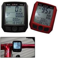 Wholesale Bike Speedometer Bogeer - Multifunctional BoGeer YT-833 Bike Computer Bicycle Cycling Speedometer Odometer Imported Sensors LCD Backlit A5
