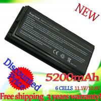 Wholesale Asus F5gl Battery - Long time- 5200mAh Laptop Battery For Asus A32-F5 F5 F5C F5GL F5M F5N F5R F5RI F5SL F5V F5Z X50 X50C X50M X50N X50SL X50RL X50V X59